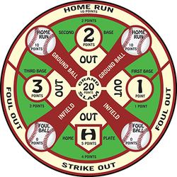 Duramesh Archery Target Baseball 25 in.x 32 in.