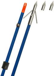 Fin Finder Raider Pro Arrow Blue w/Riptide Point
