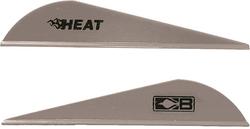 Bohning Heat Vanes Silver 36 pk.