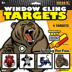NXT Generation Window Cling Beast