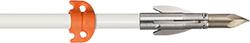 AMS Fiberglass Arrow w/Ankor FX Point & Safety Slide