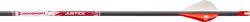Bloodsport Justice 400 Arrows w/Vanes Nocks & Inserts