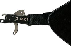 Carter 2 Shot Buckle Release Black