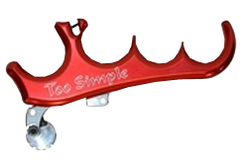 Carter Too Simple 4 Finger Release (assorted colors)
