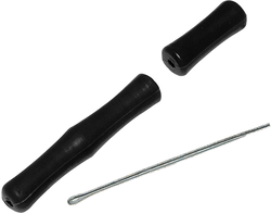 Fin Finder Snap-Shot Finger Saver Black