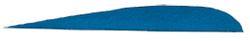 "Trueflight Blue 3"" RW Feathers"