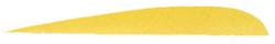 "Trueflight Yellow 4"" LW Feather"