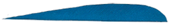 "Trueflight Blue 4"" LW Feathers"