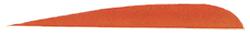 "Trueflight Orange 5"" RW Feather"