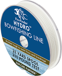 Fin Finder Hydro Bowfishing Line 25yds 250lbs