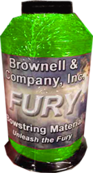 Fury Bowstring Material Flo Green 1/4lb