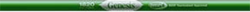 Genesis 2 1820 Green Raw Shaft