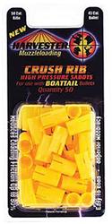 50c Crushed Rib Sabot 45c Bullet Boattail