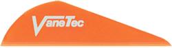 """Vanetec 2"""" HP Flo Orange Vanes"""