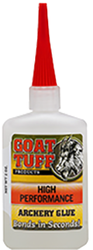 Goat Tuff High Performance Glue 1oz Bottle