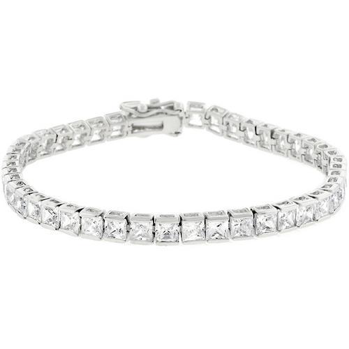Clear Cubic Zirconia Tennis Bracelet