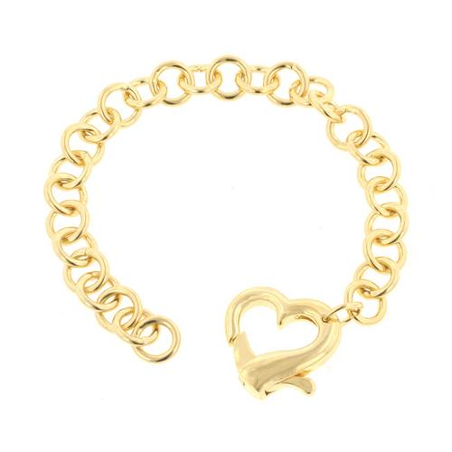 Golden Heart Bracelet