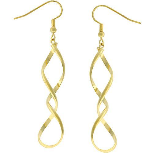 Golden Twist Earrings