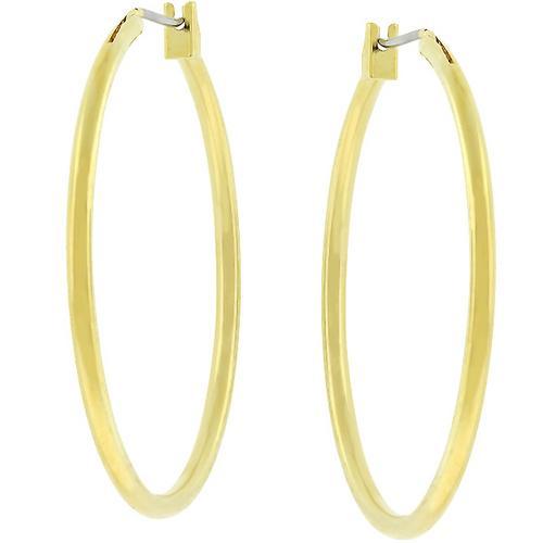 Basic Golden Hoop Earrings