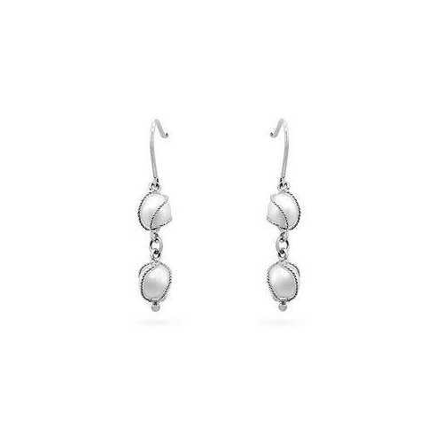 White Gold Pearl Drops