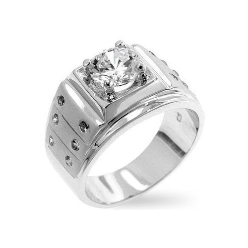 Iron Man Cubic Zirconia Ring