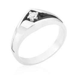 Two-Tone Sleek Men's Ring