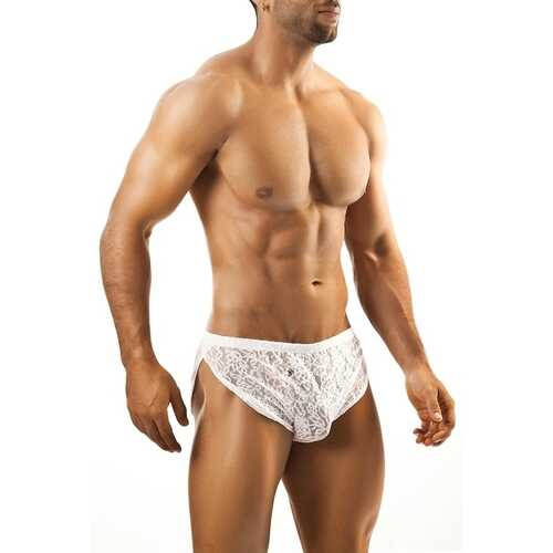 Joe Snyder Running Short-White Lace-One Size