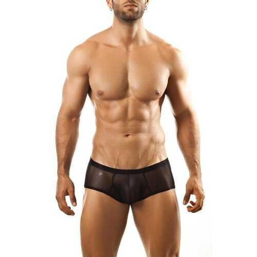 Joe Snyder Bulge Boxer-Black Mesh-L