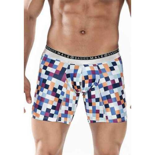 MaleBasics Hipster Boxer Brief-Pixels-Small