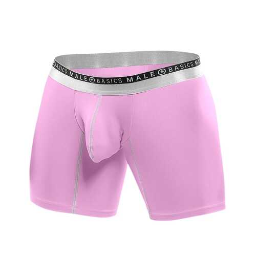 Malebasics Ergonomic Pouch Boxer Brief-Small-Pink