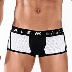 MaleBasics Spot New Sexier Trunk-Black-Small