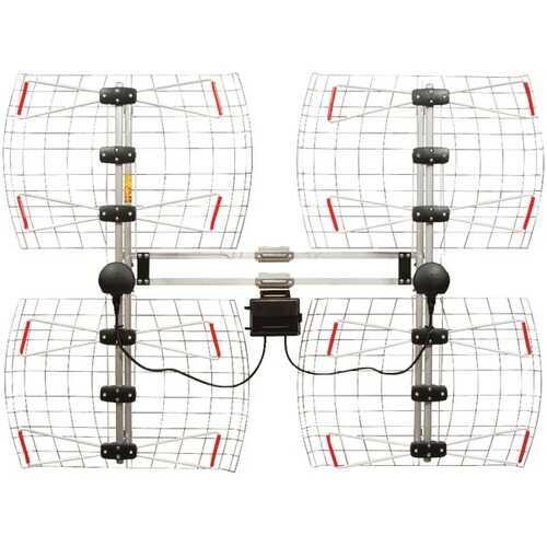 Antennas Direct DB8-E Enhanced DB8e Multidirectional Bowtie Attic/Outdoor UHF Antenna