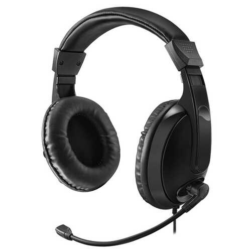 Adesso Xtream H5 Xtream H5 Multimedia Headphone/Headset with Microphone
