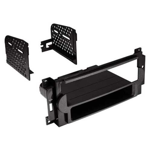 American International CDK648 Single-DIN Dash Installation Kit with Pocket for Chrysler, Dodge, and Jeep 2004 to 2010