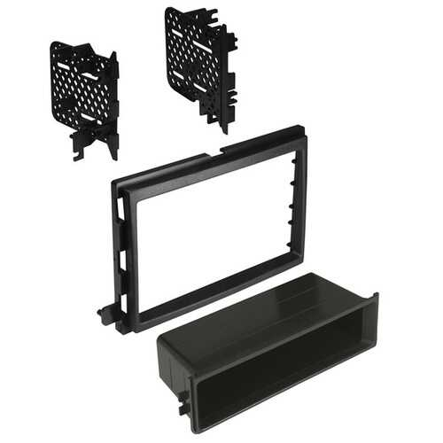 American International FMK540 Single-DIN with Pocket or Double-DIN Dash Installation Kit for Ford, Lincoln, and Mercury 2004 to 2006