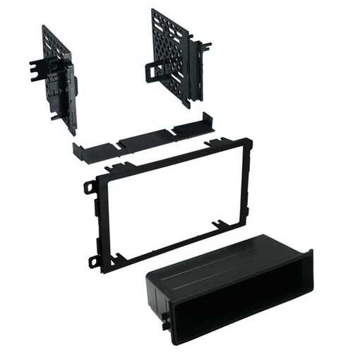 American International GMK421 Single ISO with Pocket or Double-DIN Dash Installation Kit for GM 1992 to 2012
