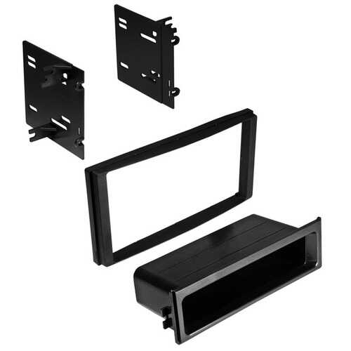 American International SBK926 Single ISO with Pocket or Double-DIN Dash Installation Kit for Subaru 2009 to 2014