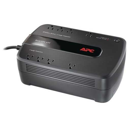 APC BE650G1 Back-UPS 650 8-Outlet 650VA System