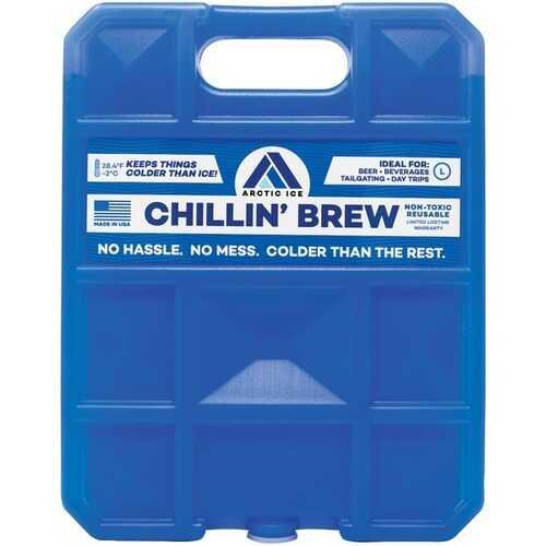 Arctic Ice 1211 Chillin' Brew Series Freezer Pack (5lbs)
