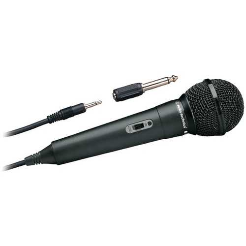 Audio-Technica(R) ATR-1100 ATR Series Dynamic Vocal/Instrument Microphone (Unidirectional, ATR1100)
