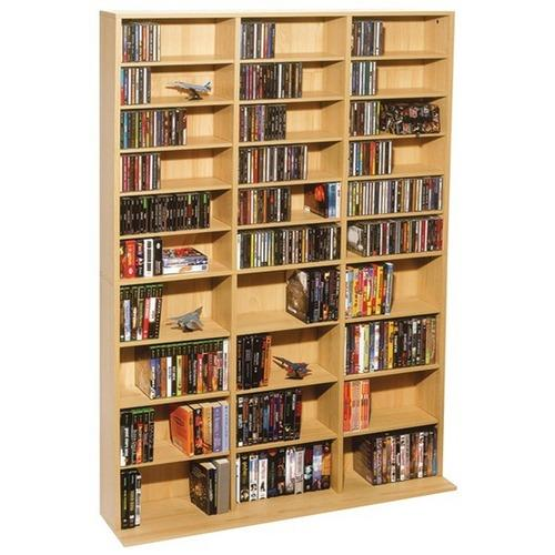 Atlantic(R) 38435715 Oskar 1,080-CD Multimedia Storage Cabinet
