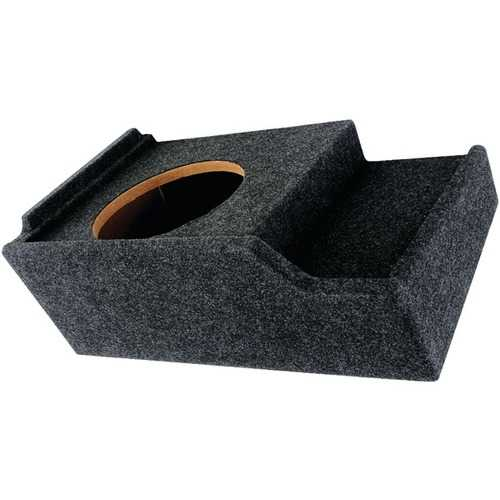 "Atrend A151-12CP BBox Series Subwoofer Box for GM Vehicles (12"" Single Downfire)"
