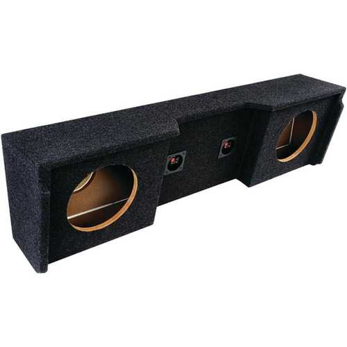 "Atrend A152-10CP BBox Series Subwoofer Box for GM Vehicles 1999-2007 (10"" Dual Downfire, GM Extended Cab)"