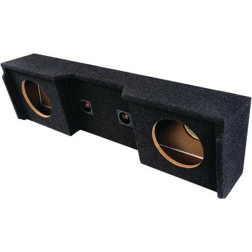 "Atrend A152-12CP BBox Series Subwoofer Box for GM Vehicles (12"" Dual Downfire)"