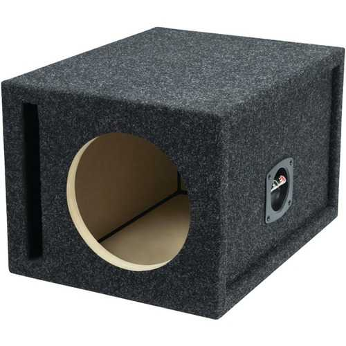 "Atrend(R) E8SV BBox Series Single Vented Subwoofer Enclosure (8"")"