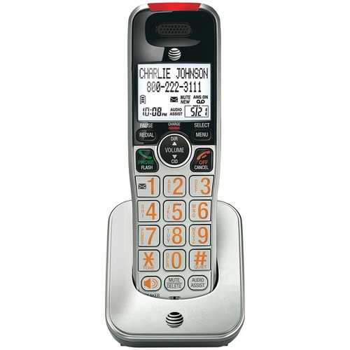 AT&T ATCRL30102 DECT 6.0 Accessory Handset with Caller ID/Call Waiting for CRL32102