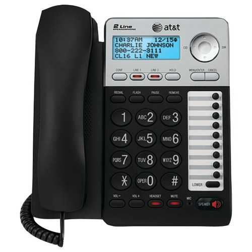 AT&T ATML17929 2-Line Speakerphone