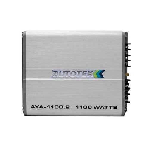 Autotek AYA-1100.2 Alloy Series 1,100-Watt 2-Channel Class AB Amp