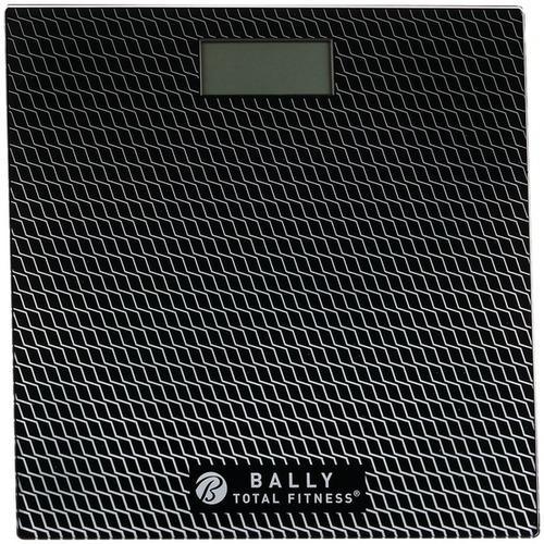 Bally Total Fitness(R) BLS-7302 BLK Digital Bathroom Scale (Black)