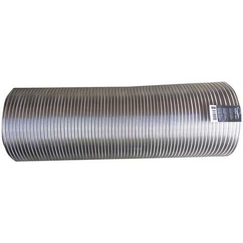 """Builder's Best 110412 Semi-Rigid Aluminum Duct, 8ft (10"""" dia)"""